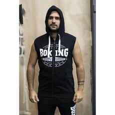 Αμάνικη Ζακέτα με Κουκούλα Boxing Pro Classic Black, Μέγεθος: S, Εικόνα