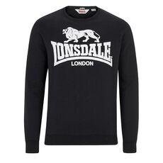 Μακρυμάνικη Μπλούζα Lonsdale Gosport Black
