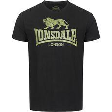 Lonsdale T-Shirt Logo - Black/Olive