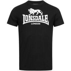 LONSDALE t-shirt men ST. Erney Black
