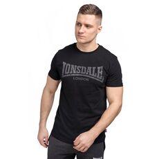 Μπλουζάκι Lonsdale Ανδρικό T-Shirt Logo Kai Black