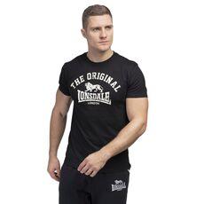 Ανδρικά Κοντομάνικα Μπλουζάκια Lonsdale T-Shirts Original Black