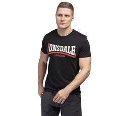 Μπλουζάκι Lonsdale Ανδρικό T-Shirt Two Tone Black