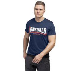Μπλουζάκι Lonsdale Ανδρικό T-Shirt Two Tone Navy