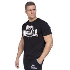 Lonsdale T-Shirt Logo - Black