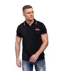 Ανδρικό Polo Μπλουζάκι Lonsdale Lynton Black