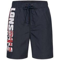 Lonsdale Carnkie Men's Beach Shorts - Navy