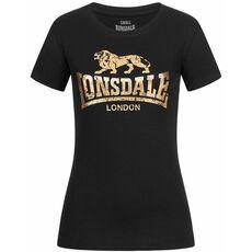 Lonsdale Ladies T-Shirt Bantry - Black