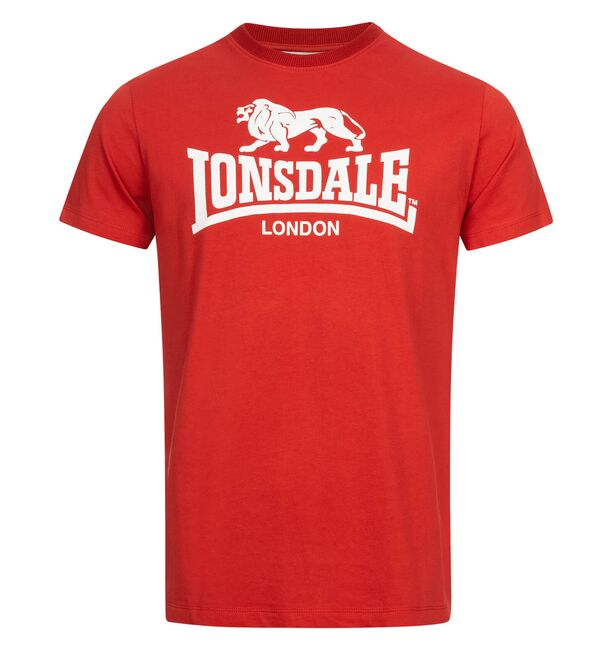Lonsdale T-Shirt St. Erney - Red